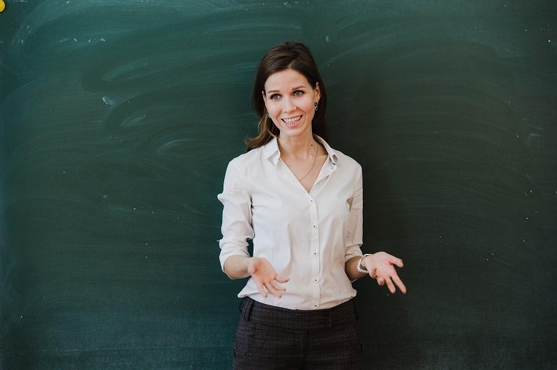 nauczycielka języka